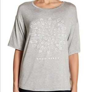Project Social T Gray Good Vibes T- Shirt - XL